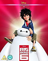 Big Hero 6 (2014) (Limited Edition Artwork Sleeve) [Blu-ray] [Region Free]