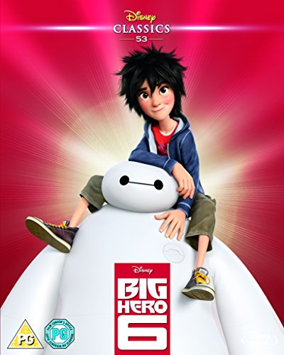 Big Hero 6 (2014) (Limited Edition Artwork Sleeve) [Blu-ray] [Region Free] [UK Import] (Movies Big Hero 6 compare prices)