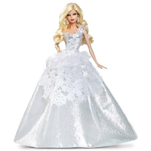 Barbie-Collector-2013-Holiday-Doll-by-Mattel-Toy-English-Manual