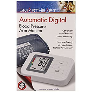 Veridian Healthcare 01-550 Smartheart Automatic Arm Digital Blood Pressure Monitor
