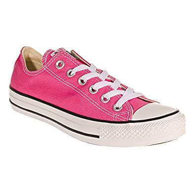 Amazon.com: Converse Womens All Star Lo Pink Paper Trainers - 10 B(M