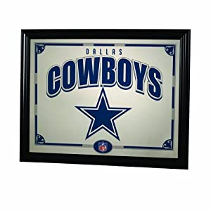 NFL Dallas Cowboys 22 Inch Printed Mirror by The Memory Company