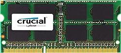 Crucial 4GB Single DDR3 1600 MT/s (PC3-12800) 204-Pin 1.35V/1.5V SODIMM Memory For Mac  - CT4G3S160BJM