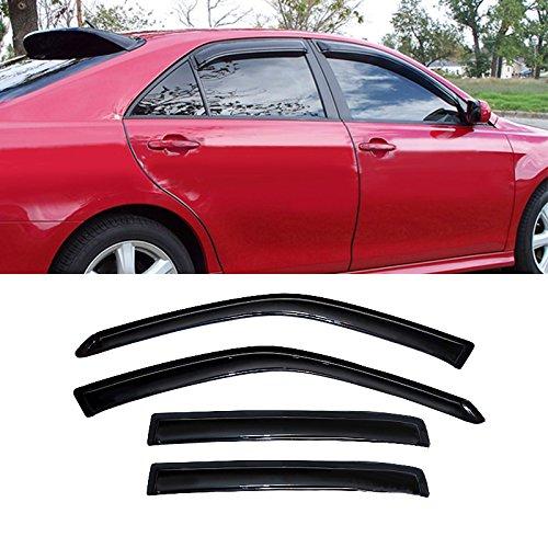 4pcs-front-rear-car-sun-rain-guard-vent-shade-window-visor-wind-deflector-non-in-channel-for-2007-20