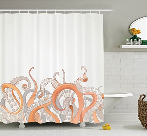 ambesonne-octopus-decor-collection-octopus-tentacles-background-underwater-marine-nature-and-sea-cre
