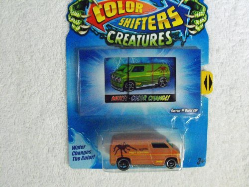 Hot Wheels Color Shifter Creatures ~ Custom 77 Dodge Van ~ Colors Vary - 1