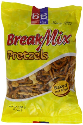 Beigel Beigel Break Mix Crackers and Pretzels 200 g (Pack of 6)