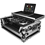 ProX XS-MIXDECK-WLT Numark Mixdeck Controller DJ Flight Case With Laptop Shelf and Wheels Fits Mixdeck and Mixdeck Quad from ProX