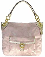 Coach 18875 Outline Signature Penelope Buckle Tote