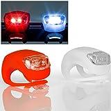 LED-Fahrrad-Beleuchtungsset - Vorder- und Rücklicht