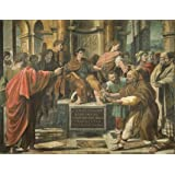 The Conversion of the Proconsul (The Blinding of Elymas), by Raphael (V&A Custom Print)