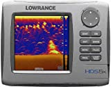 Lowrance HDS-5x Multifunction Echosounder 5-Inch Waterproof Fishfinder with Sounder