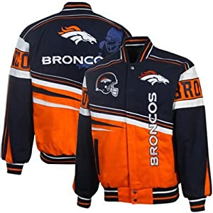 Denver Broncos Embroidered Twill Jacket by MTC