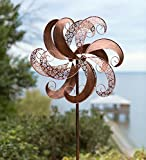 Copper-Colored Windmill Metal Spinner