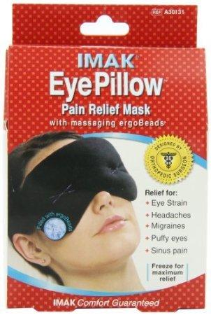 IMAK Eye Pillow, Black