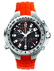 TX Men's T3B891 700 Series Sport Fly-back Chronograph Dual-Time Zone Watch