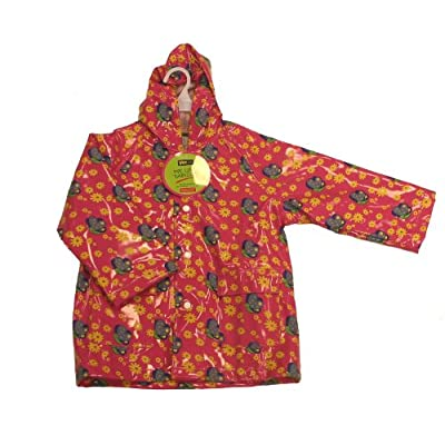 Yeominis Butterfly Pvc Lined Raincoat (18 Months- 3 Years)