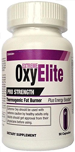 Extreme OxyElite Pro Strength Thermogenic Fat Burner plus Energy Booster by Swan®