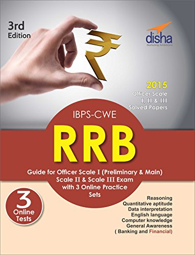 IBPS-CWE RRB Guide for Officer Scale 1 (Preliminary & Mains), 2 & 3 Exam with 3 Online Practice Sets