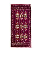 CarpeTrade Alfombra Persian Kelat (Vino/Multicolor)