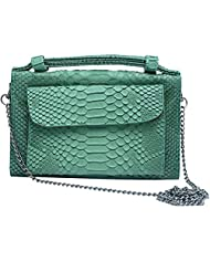 Super Drool Women Casual Green Leatherette Clutch