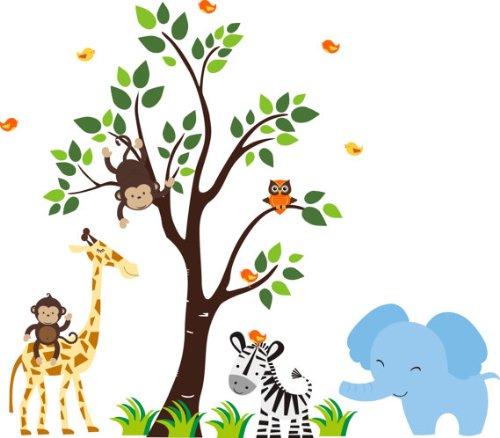 Dibujos para imprimir animales safari bebé - Imagui