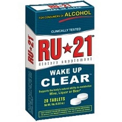 Отзывы RU-21 Hangover Supplement RU-21 Dietary Supplement