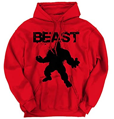 BEAST - Mode Workout T-Shirt Gym Fitness Muscle Bodybuilding Hoodie