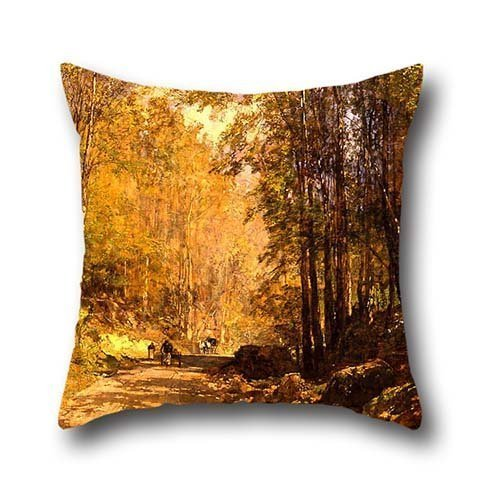 the-oil-painting-emil-jakob-schindler-forest-lane-near-scherfling-cushion-cases-of-20-x-20-inches-50