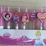 Disney Princess Birthday cake candles