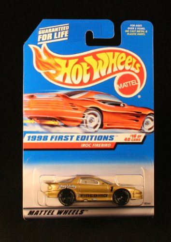 Hot Wheels 1998 First Editions Series (#16 of 40) True Value's #1 IROC Firebird Collector Car #653