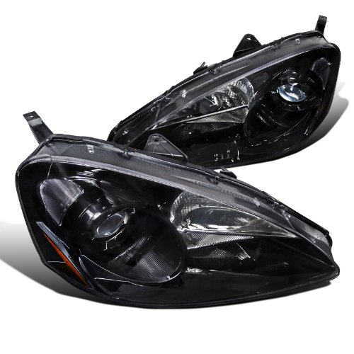 Reviews Acura Rsx Base Type S Black Projector Headlights
