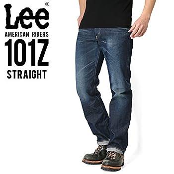 Lee リー AMERICAN RIDERS 101Z ストレート デニムパンツ 濃色ブルー 【LM5101-526】