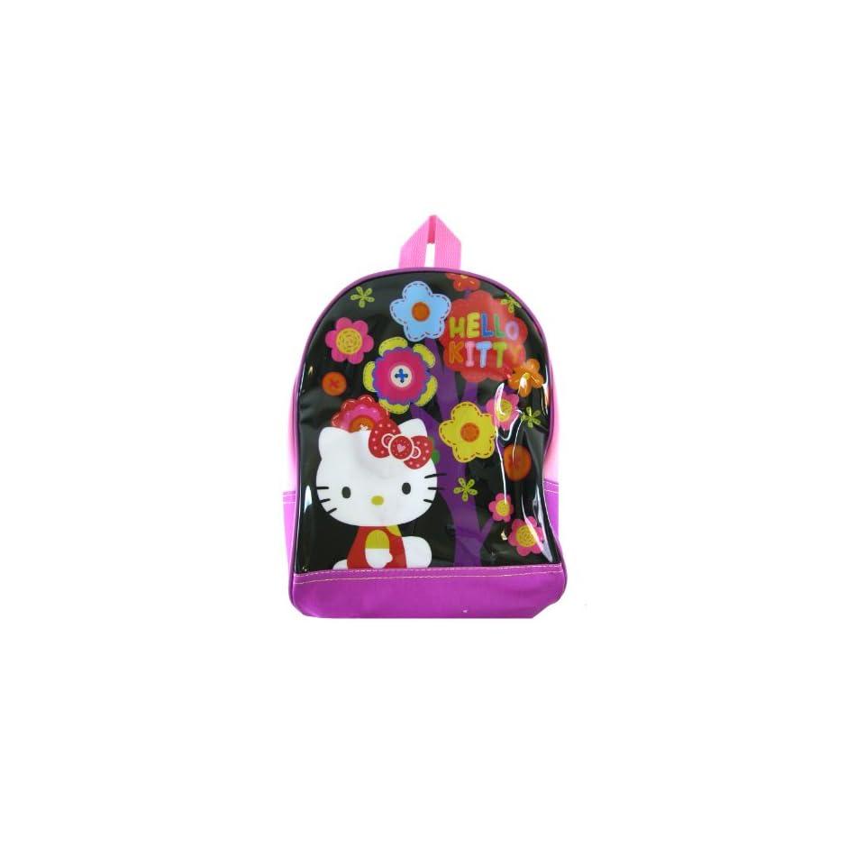 Hello Kitty Backpack   Sanrio Hello Kitty Kids Backpack (Flowers)