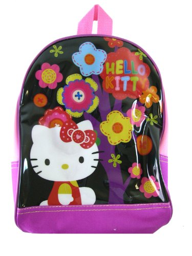 Hello Kitty Backpack – Sanrio Hello Kitty Kids Backpack (Flowers)