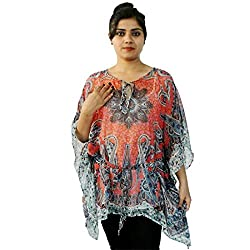 Etti Be Trendy Women's Kaftan (ES300_Multi_Free Size)