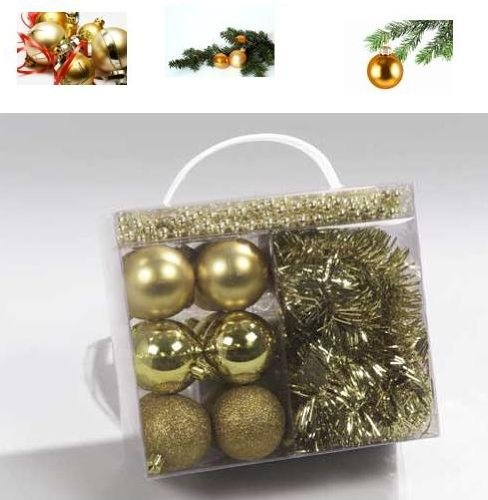 14 Teile Weihnachtsbaumschmuck