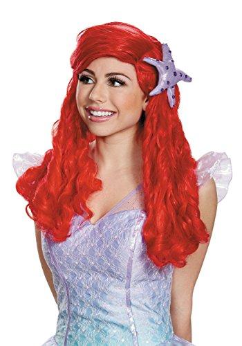 Halloween 2017 Disney Costumes Plus Size & Standard Women's Costume Characters - Women's Costume CharactersDisney Princess Ariel Ultra Prestige Adult Wig