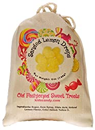 Claey\'s Sanded Lemon Drops Old Fashioned Cloth Bag 6 Ounces