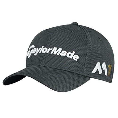 taylormade-golf-new-era-39thirty-tour-strecke-die-passen-kappe-m1-psi-herren-graphitgrau-m-l