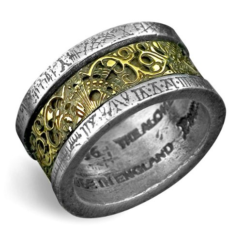 Dr. von Rosenstein's Induction Principle Alchemy Gothic Ring - size 11