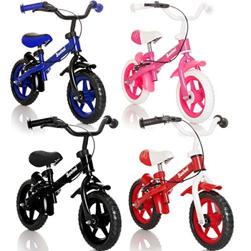 WHEELY-Laufrad-Kinderrad-MIT-BREMSEN-Fahrrad-Lernlaufrad-in-3-verschiedene-Farben-Blau