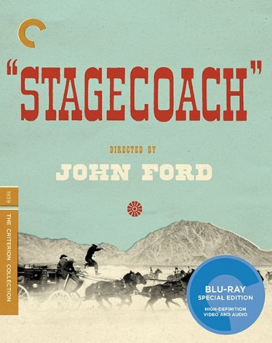 Cover art for  Stagecoach (The Criterion Collection) [Blu-ray]