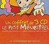echange, troc Ludwig Van Beethoven & Wolfgang Amadeus Mozart & Antonio Vivaldi, François Périer - Coffret 3 CD : Le Petit Menestrel