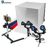 "LimoStudio Photography Table Top Photo Light Tent Kit, 24"" Photo Light Box, Continous Lighting Kit, Camera Tripod & Cell Phone Holder AGG1069"