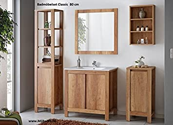 Bathroom furniture set Bath furniture Classic 60 cm with Washbasin