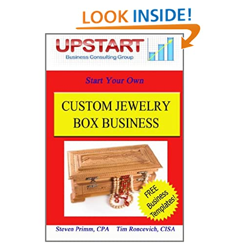 Custom Jewelry Box Business Tim Roncevich and Steven Primm