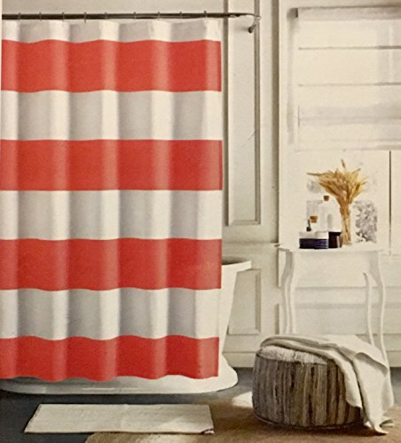 tommy-hilfiger-cabana-stripe-fabric-shower-curtain-coral-and-white-stripe-72-x-72