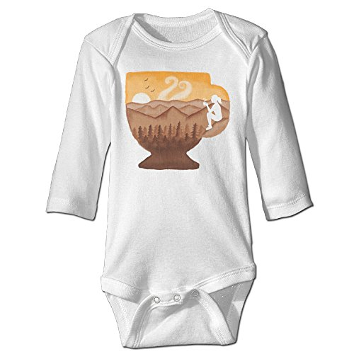 [Funny Vintage Unisex Cup Of Coffee Baby Onesie Toto] (Ramen Noodle Costumes)