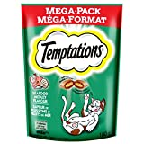 TEMPTATIONS Classic Treats for Cats Seafood Medley Flavor 6.3 Ounces (Pack of 10)